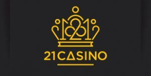 An image of the 21 Casino logo