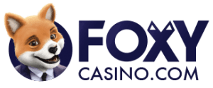An image of the Foxy Casino Logo