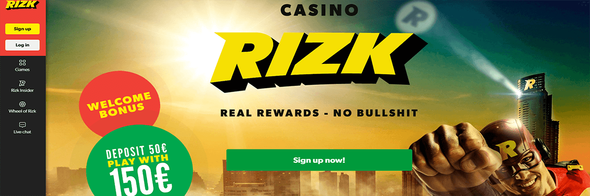 Rizk Race Online Casino Slots Tournament - Win Great Bonuses & Rewards