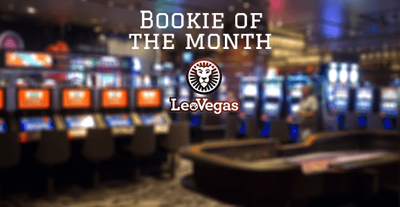 Bookie of the month LeoVegas