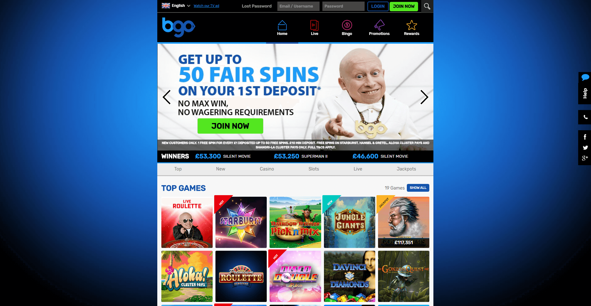 An image of the new bgo casino