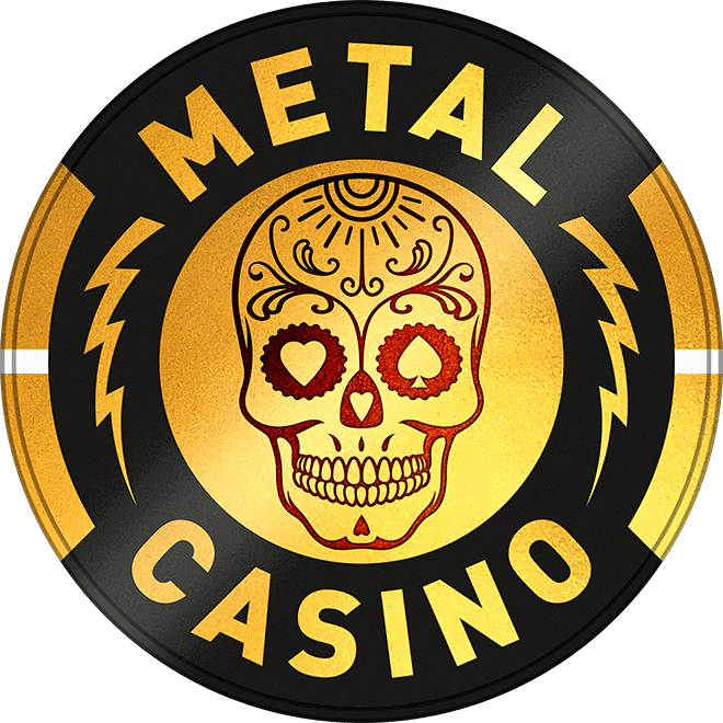 An image of the metal casino logo