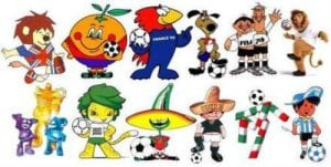 mascots world cup image