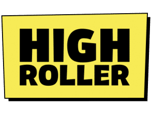 An image of the High Roller Logo